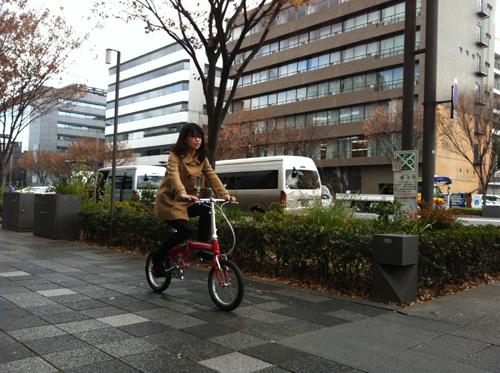 自転車の 自転車 可愛い 折りたたみ : 可愛いくて機能性もいい自転車 ...