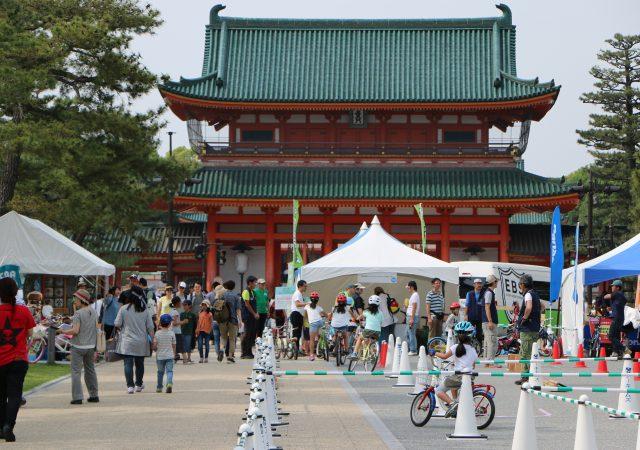 平安神宮目の前という京都らしさあふれるロケーション